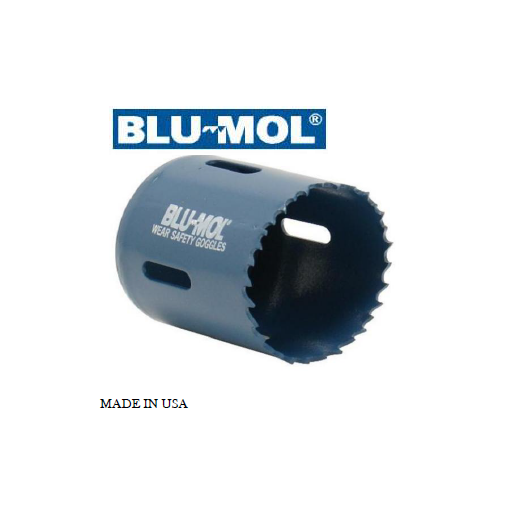 BLU-MOL BI-METAL HOLE SAW